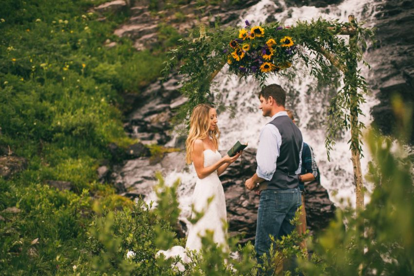 055 Crested Butte Elopement Waterfall Krsitin Phil Westfalia Off Road Adventure