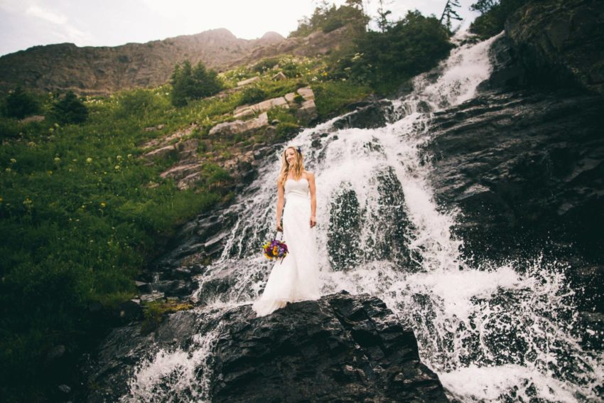 073 Crested Butte Elopement Waterfall Krsitin Phil Westfalia Off Road Adventure