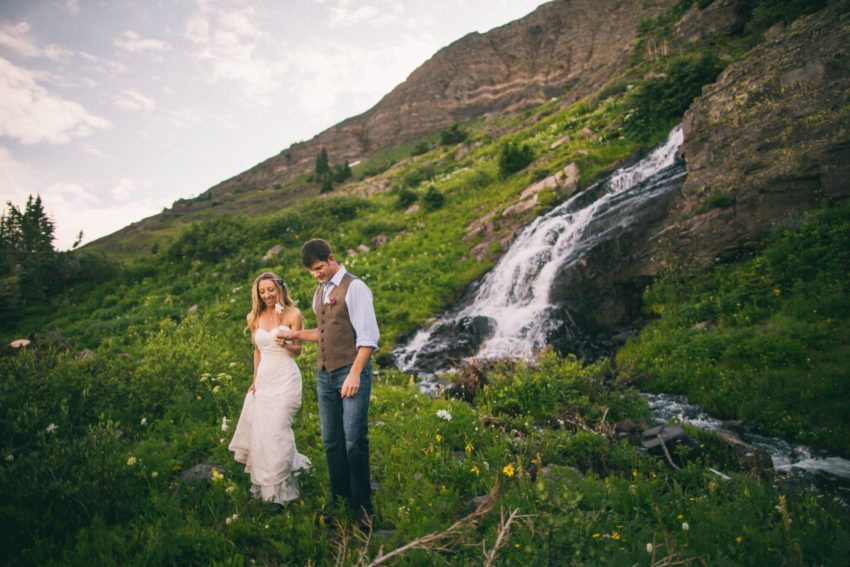 076 Crested Butte Elopement Waterfall Krsitin Phil Westfalia Off Road Adventure