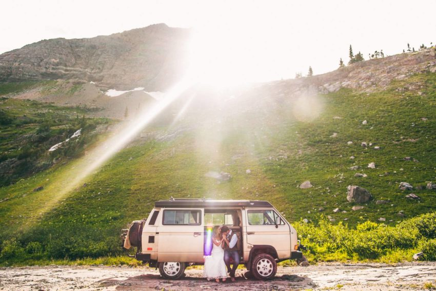 086 Crested Butte Elopement Waterfall Krsitin Phil Westfalia Off Road Adventure